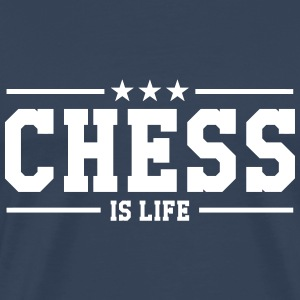 Chess is life Camisetas - Camiseta premium hombre