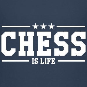 Chess is life T-Shirts - Teenager Premium T-Shirt