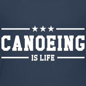 Canoeing is life T-shirts - Børne premium T-shirt