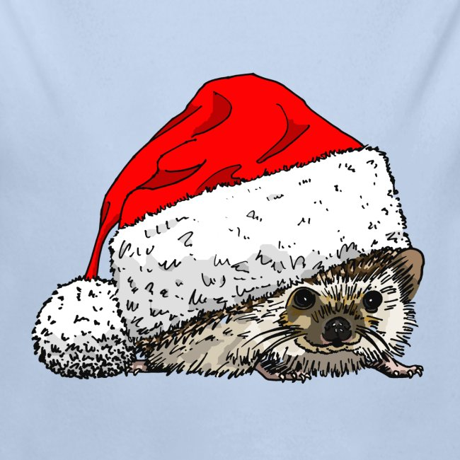 Cute Christmas Hedgehog Creeper