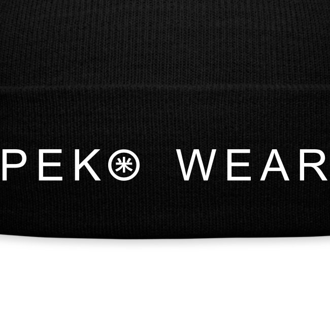 Peko Wear winter cap