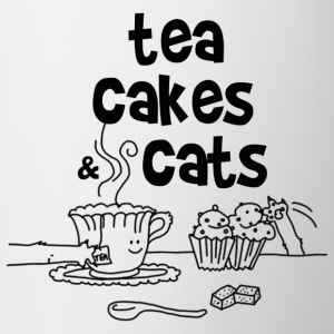 Tea cakes and cats - Tasse