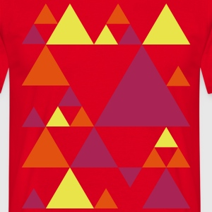 Triangles rétro  Tee shirts - T-shirt Homme