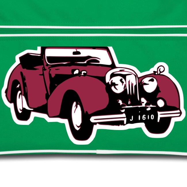 Retro-Tasche: Triumph Roadster