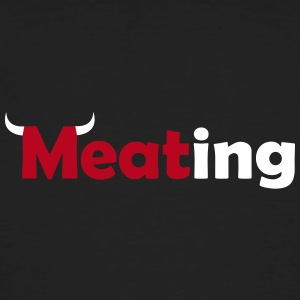 Meating Bull - Männer Bio-T-Shirt