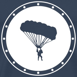 parachuting T-Shirts - Men's Premium T-Shirt