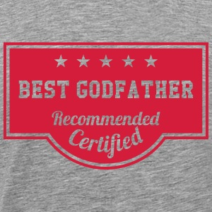 Best Godfather T-shirts - Mannen Premium T-shirt