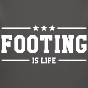 Footing is life ! Sweats - Body bébé bio manches longues