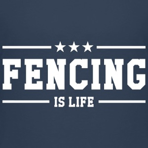 Fencing is life Shirts - Teenage Premium T-Shirt