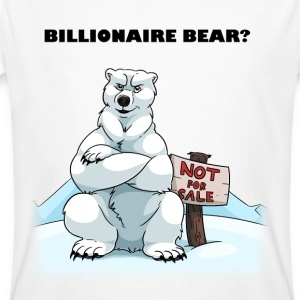 Billionaire Bear T-Shirts - Men's Organic T-shirt