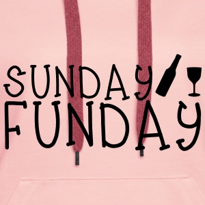 Sunday Funday Hoodies & Sweatshirts - Women's Premium Hoodie