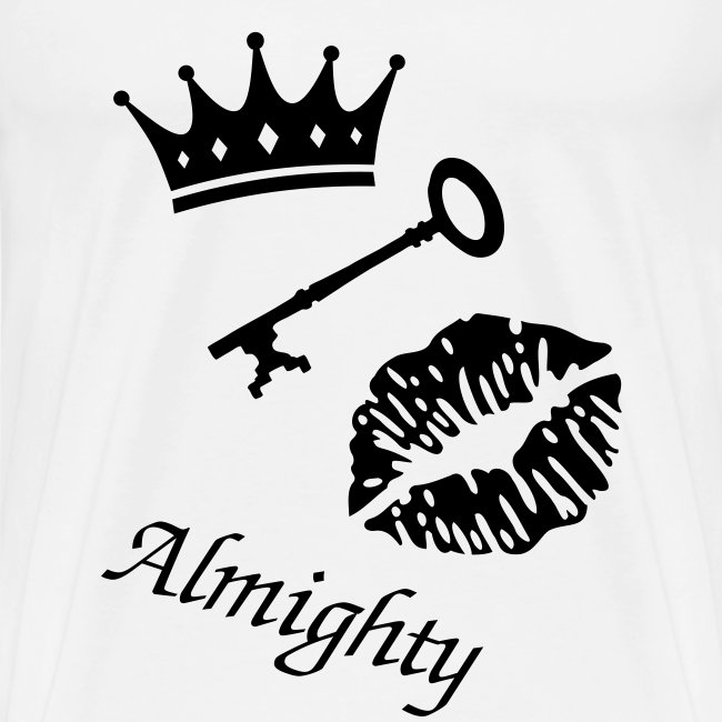 "T-shirt male ""Almighty"""