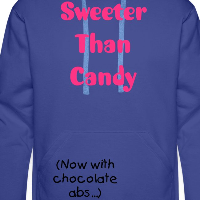 "Hoodie male ""Sweeter Than Candy..."""