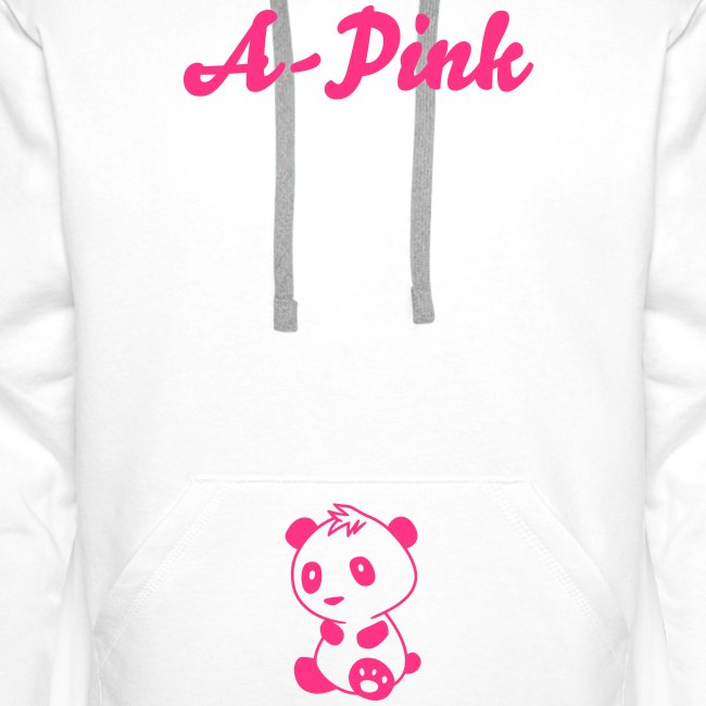"Hoodie male ""A-Pink"""