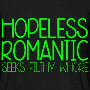 Hopeless Romantic T-shirts - Mannen T-shirt