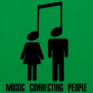 Music Connecting People Borse & zaini - Borsa di stoffa