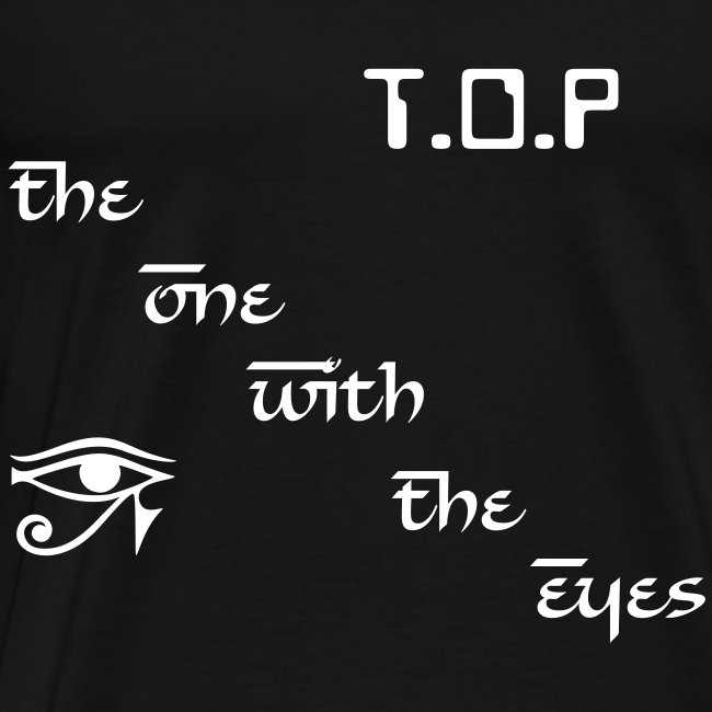 """T-shirt male """"T.O.P - The One With The Eyes"""""""
