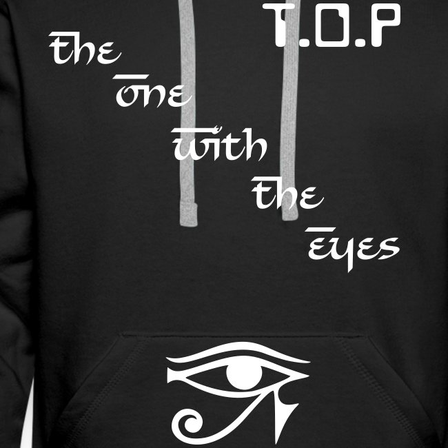 "Hoodie male ""T.O.P - The One With The Eyes"""