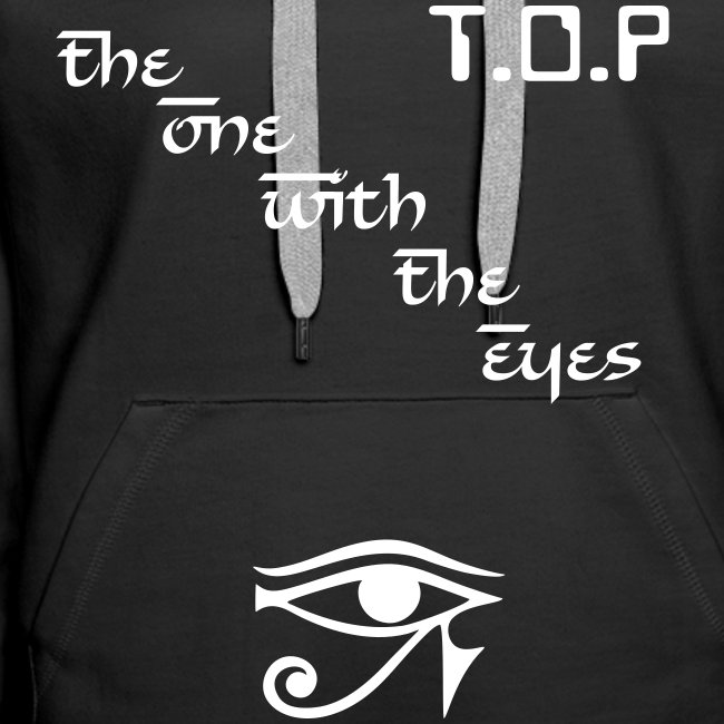 """Hoodie female """"T.O.P - The One With The Eyes"""""""