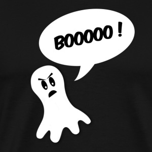 boo ghost all white T-shirts - Mannen Premium T-shirt