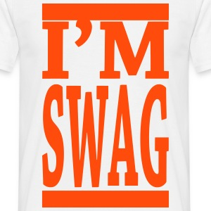 Tshirt Swag fluo orange - T-shirt Homme