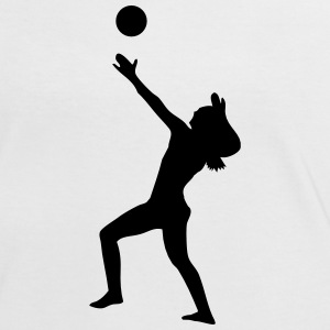 Volleyball Beachvolleyball T-Shirts - Frauen Kontrast-T-Shirt