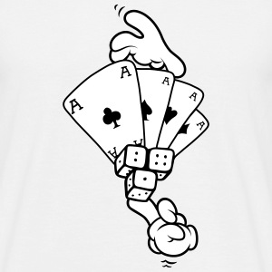 Hands - Gambling T-Shirts - Men's T-Shirt