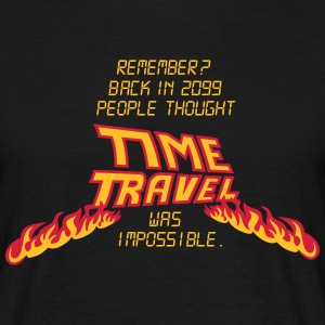 Time Travel T-Shirts - Männer T-Shirt