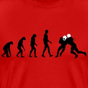 Evolution Football T-shirts - Mannen Premium T-shirt