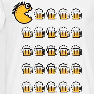 Beer Drinking Punk (2C) Tee shirts - T-shirt Homme