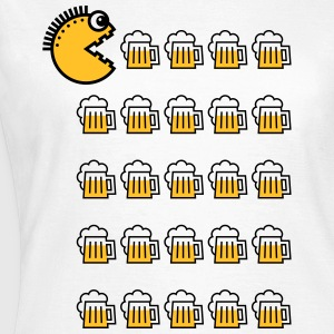 Beer Drinking Punk (2C) T-Shirts - Frauen T-Shirt
