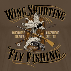 wingshooting_fly_fishing T-Shirts - Men's Premium T-Shirt