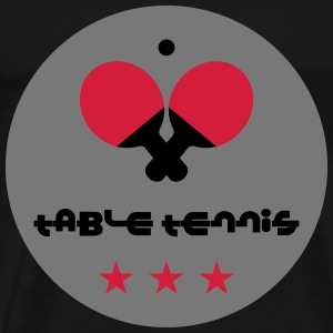 Table Tennis Camisetas - Camiseta premium hombre