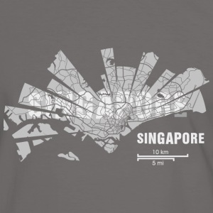 Singapore T-Shirts - Men's Ringer Shirt