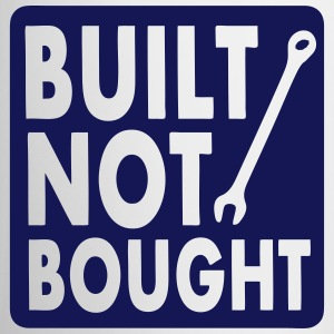 Built Not Bought Mug - Contrasting Mug