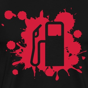 Gas Pump T-shirts - Mannen Premium T-shirt