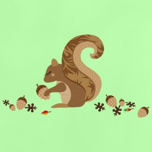 A squirrel with an acorn Shirts - Baby T-Shirt
