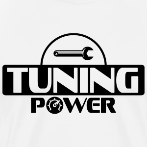 Tuning power T-skjorter - Premium T-skjorte for menn