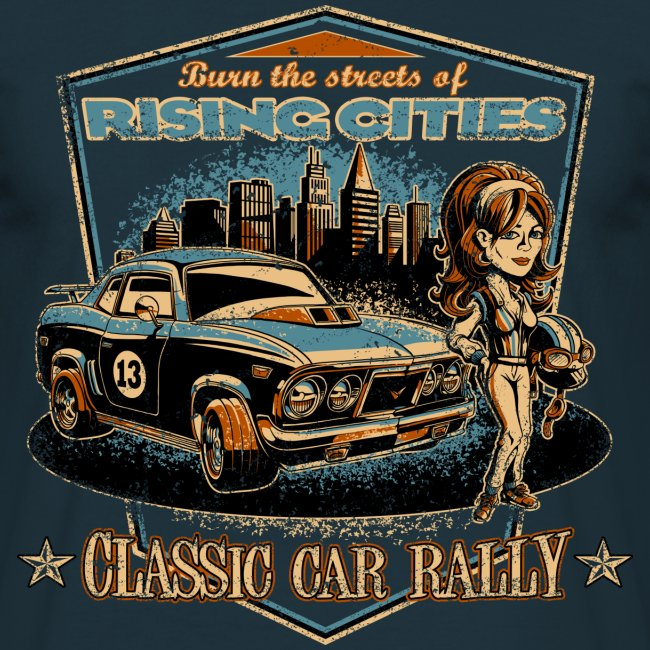 Classic Car Rally Event