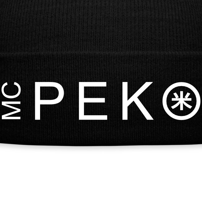 MC Peko winter cap