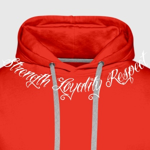 Strength Loyality Respect 1 Pullover & Hoodies - Männer Premium Hoodie