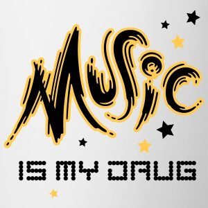 Music is my Drug - Tofarvet krus