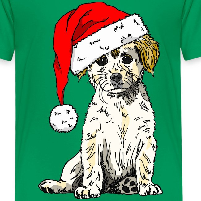 Christmas Doggy Kid's Tee