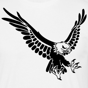 eagle - Mannen T-shirt