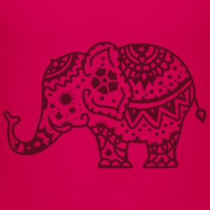 a decorated Indian elephant Shirts - Teenage Premium T-Shirt