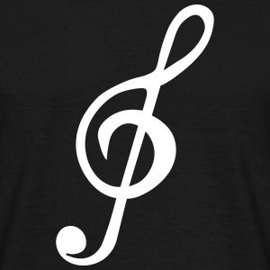 Treble Clef T-Shirts - Men's T-Shirt