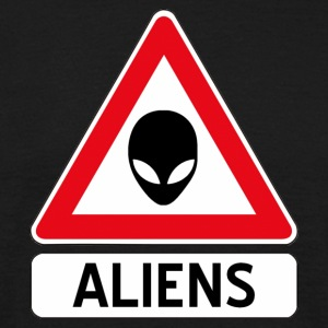 aliens T-shirts - Herre-T-shirt