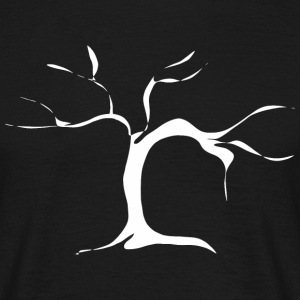 Branched tree - white T-Shirts - Men's T-Shirt