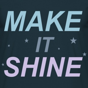 Make It Shine T-shirts - Herre-T-shirt