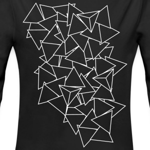 triangles Pullover & Hoodies - Baby Bio-Langarm-Body